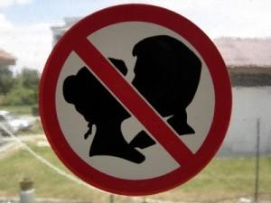No Kissing